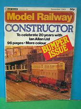 MODEL RAILWAY CONSTRUCTOR NOVEMBER 1980 > EXCELLENT BUMPER ISSUE  # SEE PICS