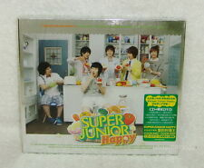Korean Super Junior Happy Cooking Taiwan Ltd CD+DVD+28P