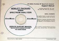 HP 8590A  Service Support Manual (Good Schematics)