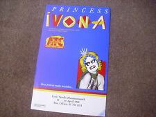 PRINCESS IVONA  Polish Play  LYRIC Studio Hammersmith Theatre Original Poster