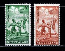 Item No. A4120 – New Zealand – Scott # B16-B17 - MLH
