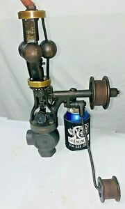 """PICKERiNG 3/4"""" Vertical 3 Fly Ball Governor Steam Gas Oilfield Engine Hit Miss"""