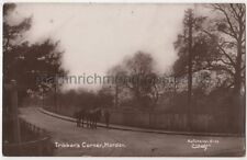 Tribbons Corner Morden, Surrey RP Postcard B764