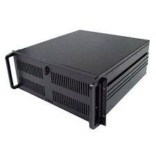 4U Rack Mount 500MM Deep Black Rackmount Server Case without PSU CSCG4U500