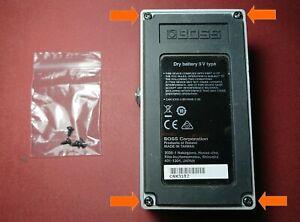 Boss Guitar Pedal Replacement Baseplate Screws x 4