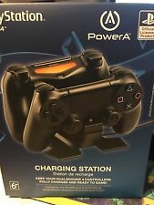 PS4 Dual Shock 4 Dual Controller Charging Station Charger Power A PowerA