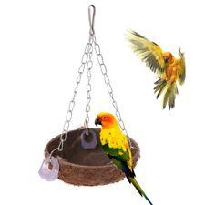 Pájaro Juguete Plástico Escalera Espejo granos diversión interactiva Periquito Canario cacatúa