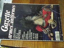 1µ? Revue Gazette des Armes & Uniformes n° 216 Decoration sovietique  Arc Turc