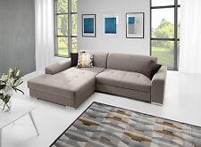 Couchgarnitur Couch PEDRO Polstergarnitur Sofa Polsterecke mit Schlaffunktion