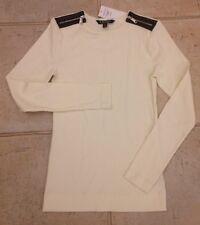 Genuine Lauren Ralph Lauren Cotton Top White  Size S NEW RRP £75