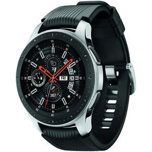 BUNDLE Samsung Galaxy Bluetooth Watch 46mm SM-R800NZSCXAR Silver