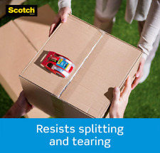 Scotch 142 6 Heavy Duty Shipping Packaging Tape 188 Inch X 222 Yd 6 Packs