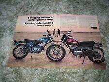 1975 Harley Davidson Enduro Cycle Ad SX-175  SX-250