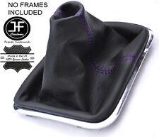 Polaina De Cuero Púrpura Costura manual se ajusta VW Touareg 2002-2010 Gear
