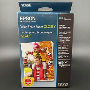 Epson Value Photo Paper Glossy 4 x 6 180 plus sheets Inkjet Printer Supertank