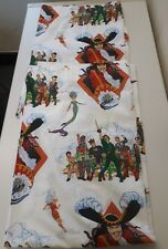 "peter pan curtains Captain Hook Vintage 1991 66"" Wide 54"" Drop VGC Made in UK"