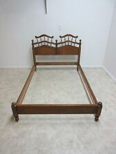Vintage Maple Winsor Back Headboard Bed Fullsize