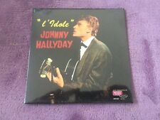 CD EP Single JOHNNY HALLYDAY - l'idole   NEUF