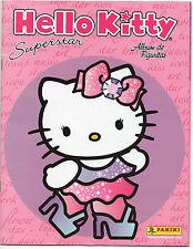 Panini 2009 Sanrio Hello Kitty Superstar Complete Loose Sticker Set+Empty Album