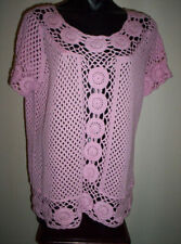 Regular 100% Cotton Knit Tops & Blouses for Women