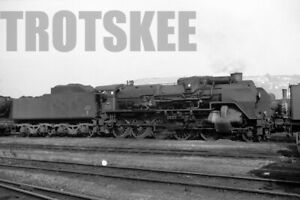 Larger Negative SNCF French Railways Steam Loco Class 150P 1961 France