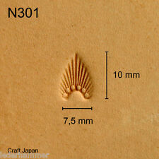Punziereisen, Lederstempel, Punzierstempel, Leather Stamp, N301 - Craft Japan