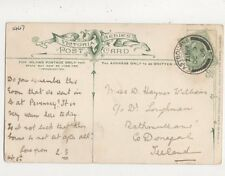 Miss D Haynes Williams / Dr Loughman Rathmullan Donegal Ireland 1906 693a