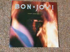 "1985 Original  7800 FAHRENHEIT by BON JOVI Vinyl 12"" LP Record"