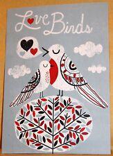 Dobra Lystivka Art Postcard - The Love Birds by Michael Mullan