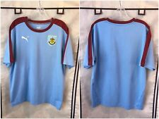Burnley Fc 2017/18 Away Soccer Jersey Large Puma Epl