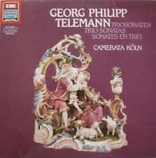 CAMERATA KOLN - GEORG PHILIPP TELEMANN - TRIO SONATAS  -  LP