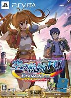 Legend of Heroes Sky Trail FC Evolution Limited Edition - PS Vita