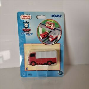RARE LOR1 COVERED RED & GREY MOTORISED ROAD VEHICLE FOR TOMY TRACKMASTER THOMAS