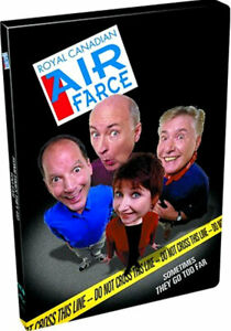 Used DVD - ROYAL CANADIAN AIR FARCE - DO NOT CROSS THIS LINE - SOMETIMES THEY GO