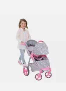 2-In-1 Doll Stroller and Carrier Travel System  NEW IN BOX FREE SHIPPING