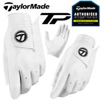 TaylorMade Tour Preferred TP Men's Leather Golf Glove White - NEW! 2021