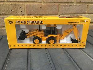 1:35 Joal Precision Die Cast JCB 4CX Backhoe Loader Sitemaster 2926