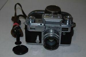 Kiev-IIIa (3a) Vintage 1958 Soviet Rangefinder Camera & Case. 5805725. UK Sale