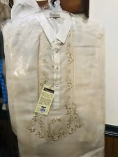 Barong Tagalog Size Medium New With Tag In The Plastic