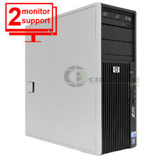HP Z400 Computer PC Intel Xeon W3505 2.53Ghz 12GB DDR3 1TB  FX 1500 Win10 Pro 64