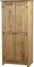 Panama 2 Door Wardrobe in Natural Wax