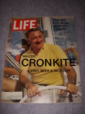LIFE Magazine MARCH 26, 1971, WALTER CRONKITE Cover, U.S. ARMY SPIES ON CITIZENS