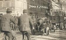 WW1 1919 FOTO IMPRESA DI FIUME D'ANNUNZIO ARDITI OBICI FIUMANI FIUME O MORTE