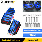 Universal Automatic Gas Brake Foot Pedal Throttle Pad Cover Auto Car Parts Blue