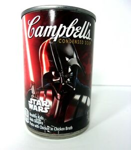 2017 Limited Edition - Star Wars DARTH VADER Campbell Soup Empty Can 10.5 oz