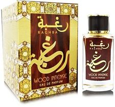 Raghba Wood Intense By Lattafa 100ml EDP Spray (Woody/Musk/Arabian Oud/Kalemat)
