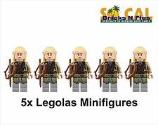 LEGO Lord of Rings Legolas Minifigure Lot of 5 New
