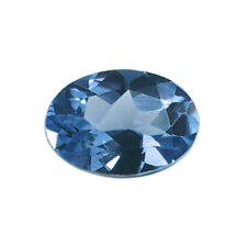 7x5mm OVAL FACETED GENUINE SWISS BLUE TOPAZ A GRADE LOOSE GEMSTONE