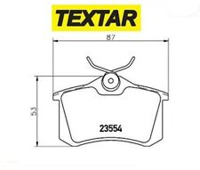 2355406 Kit pastiglie freno, Freno a disco (TEXTAR)
