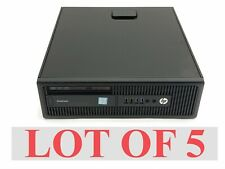 Hp Elitedesk 800 G2 SFF Intel Core i5-6500 3.20Ghz 8GB 1TB Win 10 Computer Lot 5
